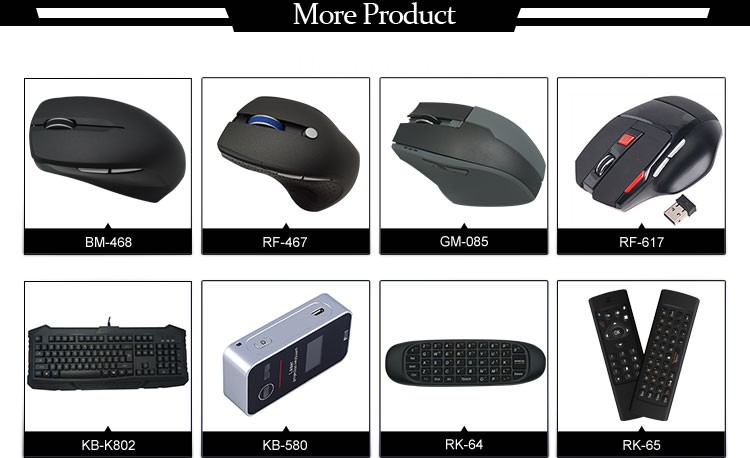 Customized Color Print 2.4G Wireless Mouse With Mini Nano Receiver