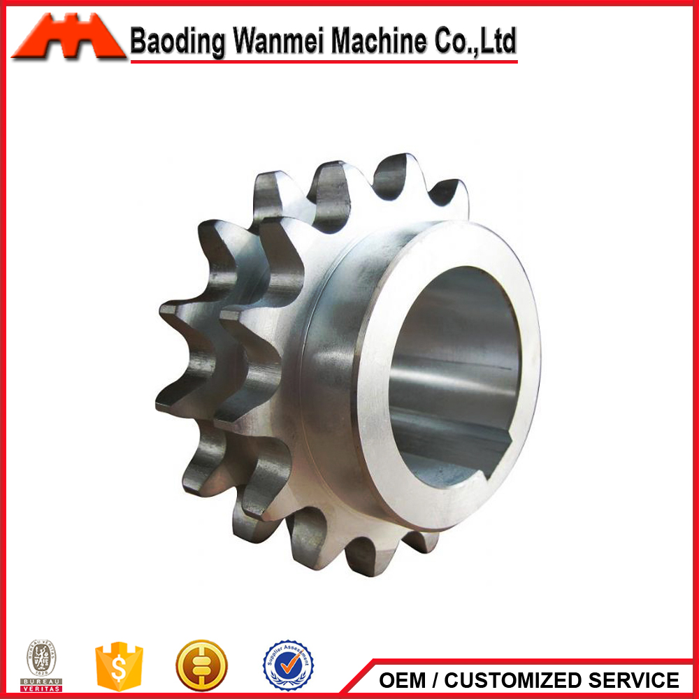 Factory Mechanical transmission duplex sprocket OEM Sprocket hub