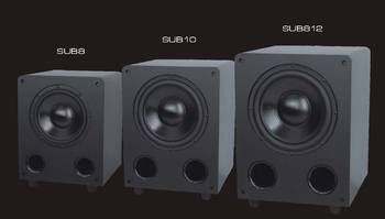Manufacturer Supply 8 inch / 10 inch /12 inch professional indoor powered subwoofer speaker