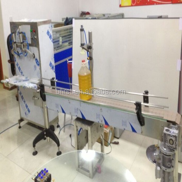 High efficiency automatic cooking oil filling and capping machine