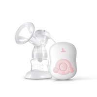Natural 3D Breast Pump baby care breast pumps milk feeding single portable silicone bpa free electric breast pump