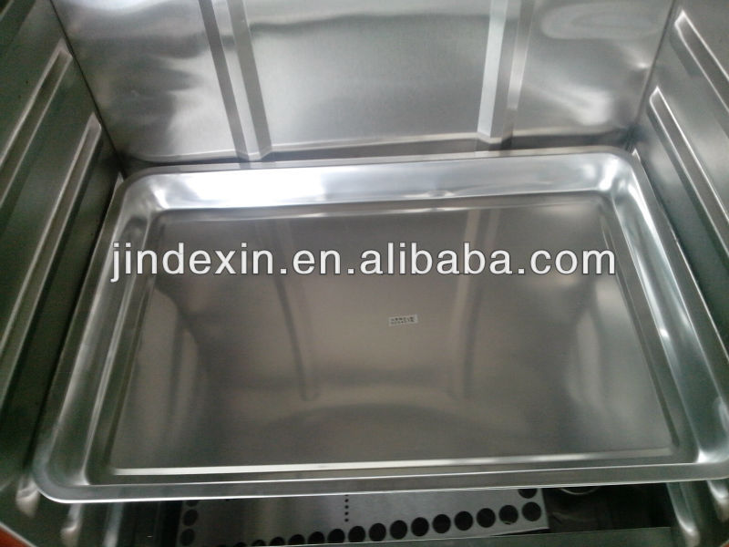 Stainless Steel Commercial Gas Food Steamer Kitchen Steam Cabinet