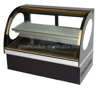 Portable Galss Pastry Cooler Table Top Pastry Display Cooler