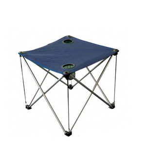 mini lightweight folding camping travel stool with back support metal