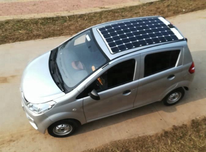 4 колеса Новая Энергия Солнечная электромобиль/солнечный автомобиль