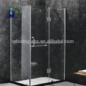 8mm 10mm 12mm Clear Tempered Gl Shower Bathroom Wall Panel Door Design Prices