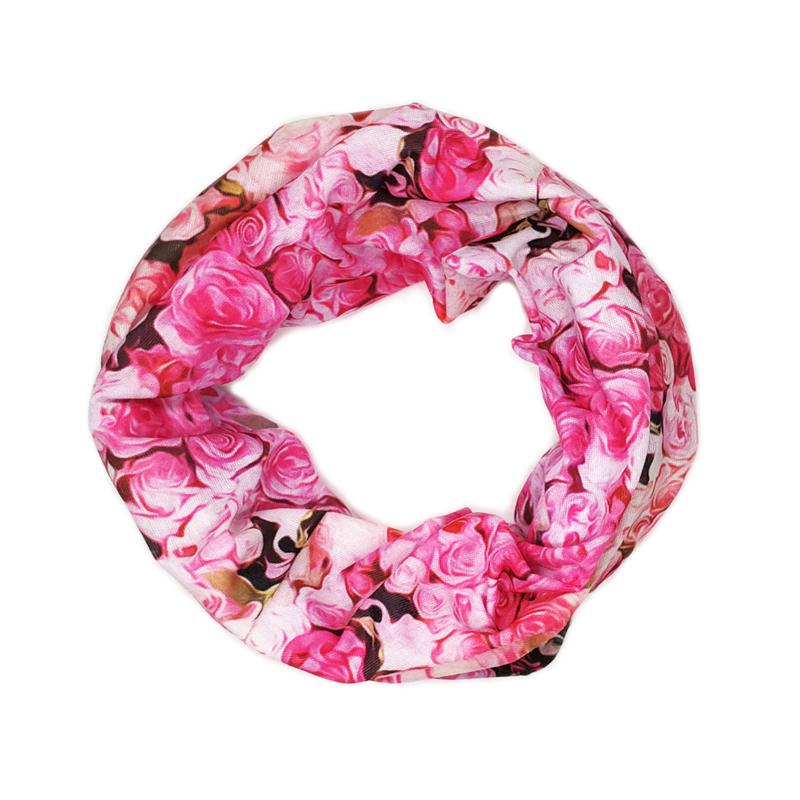 Headwear Flower Sweatband Elastic Turban Sport Headband Outdoor Head Wrap