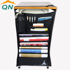 High quality student book stationery storage bag organizer desk hang bag