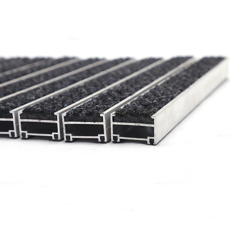 Antiscivolo su misura esterna ingresso zerbino in alluminio