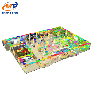 Mantong Merryland CE machine arcade room outdoor children playground equipment for game zone