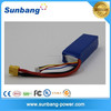 Sunb853496 2200mAh 30C 3S 11.1V lipo battery for rc helicopter/car/boat/quadcopter remote control toys