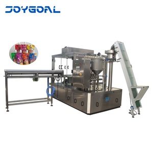 Shanghai full automatic Dish washing detergent doypack standing up bag/sachet/pouch filling capping doypack machine used