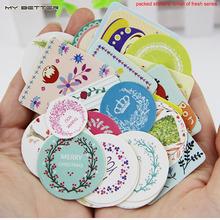 38pcs/set DIY Kawaii Girl Cute Animal Paper Sticker Creative Vintage Romantic Love Gift Diary Decor Scrapbooking