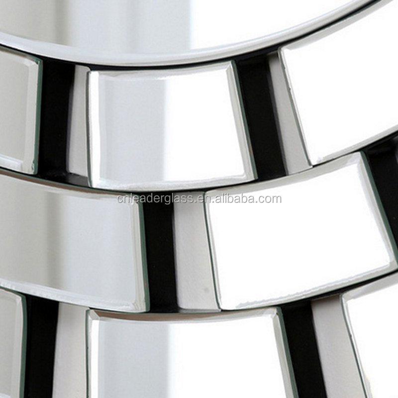 Winzlee مرآة حائط فينيسية مستديرة مرايا معرف المنتج