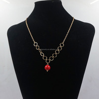 Fashion latest design saudi gold jewelry pearl bead amber name necklace long jewelry 2017