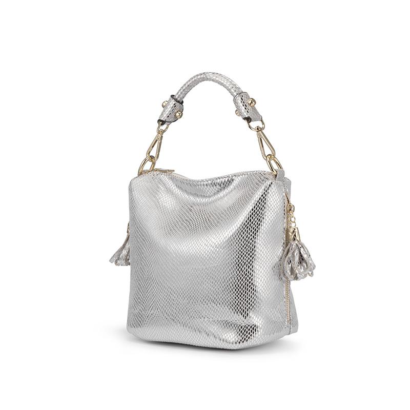 REALER женская сумка с ручкой сверху, сумка через плечо для женщин, брендовые роскошные сумки женские, маленькая золотая женская сумочка(Китай)