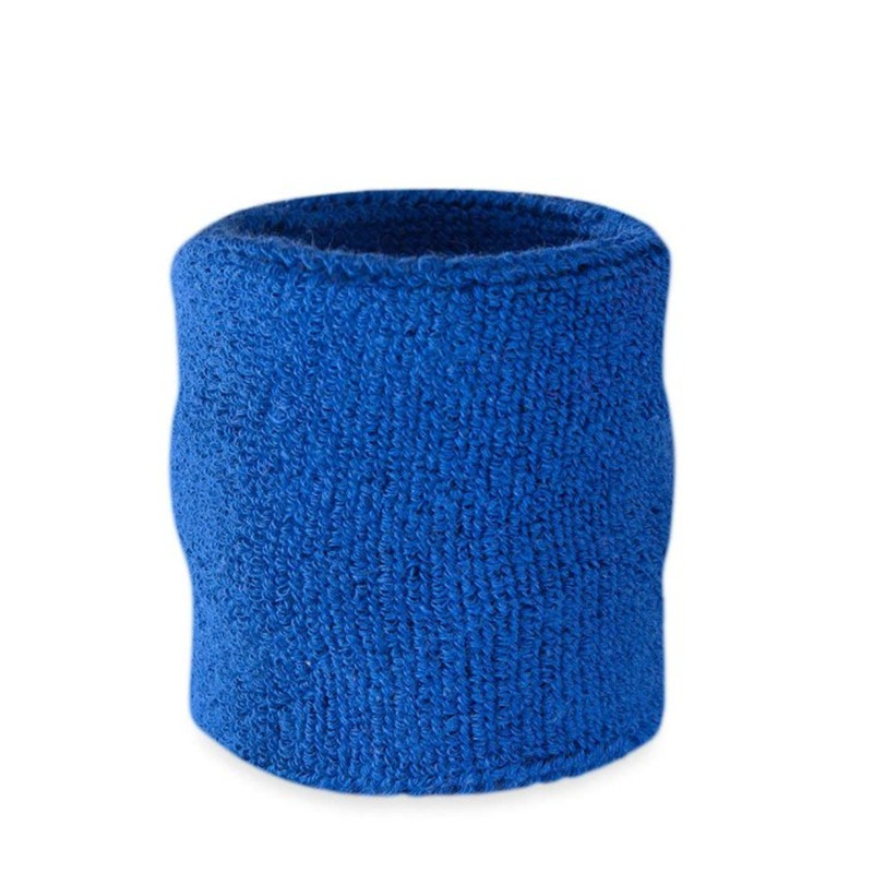 Oempromo custom braided cotton sports terry wristband sweatband