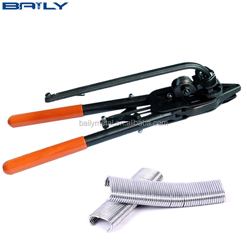 Manual Hog Ring Staples Tool Gun For Link Fence,Gabion Basket,Wire ...