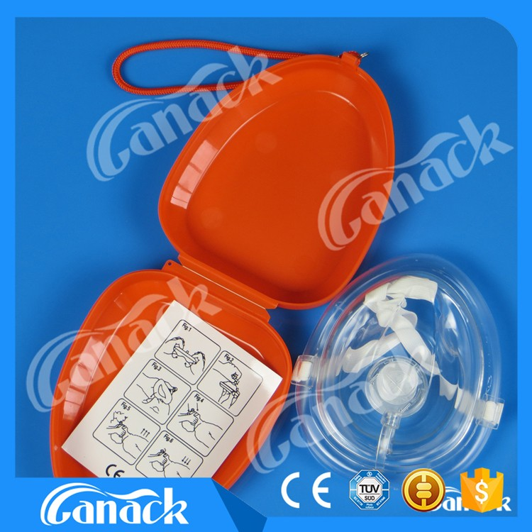 2017 hot new products cpr breathing mask with great price