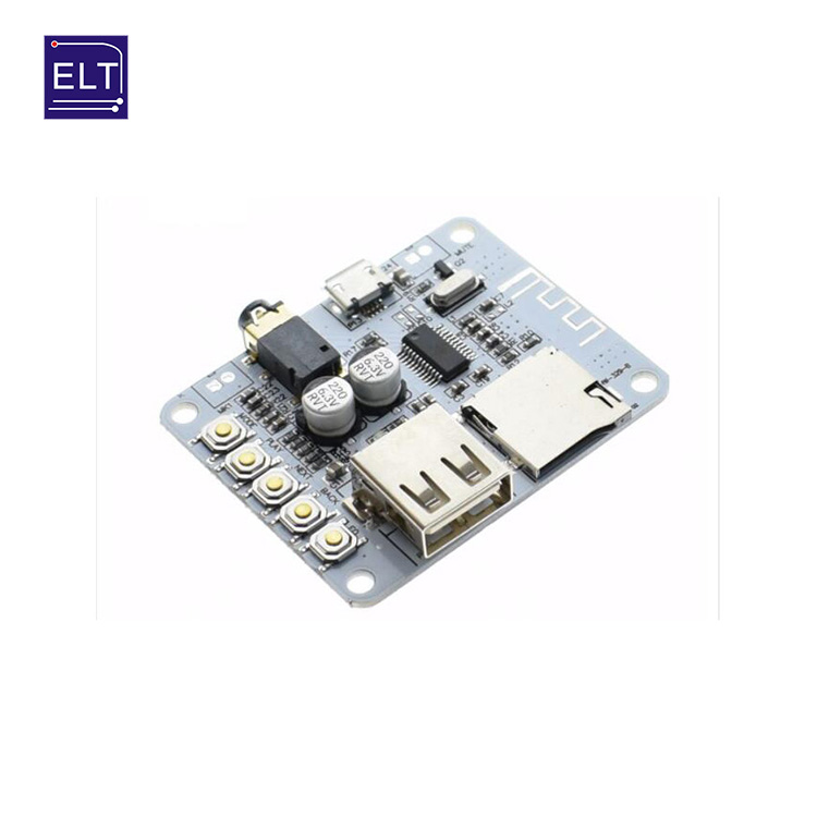 USB 5V Bluetooth 4.0 Audio Receiver Module Long Distance Wireless Board JH