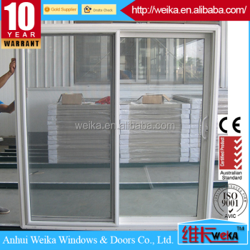 American style sliding door with D handle