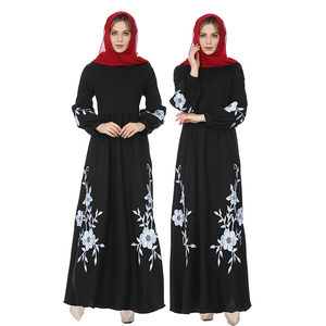2019 Modest Fashion Maxi Ladies Wholesale Women Muslim Dress Turkey