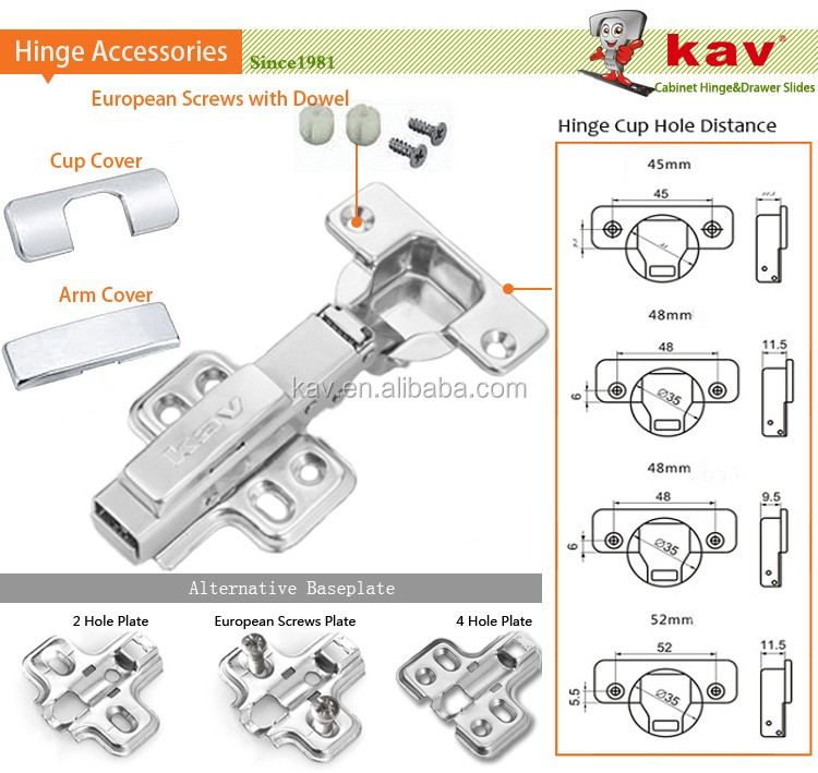 26mm mini soft close hinges jewellery box concealed hinge
