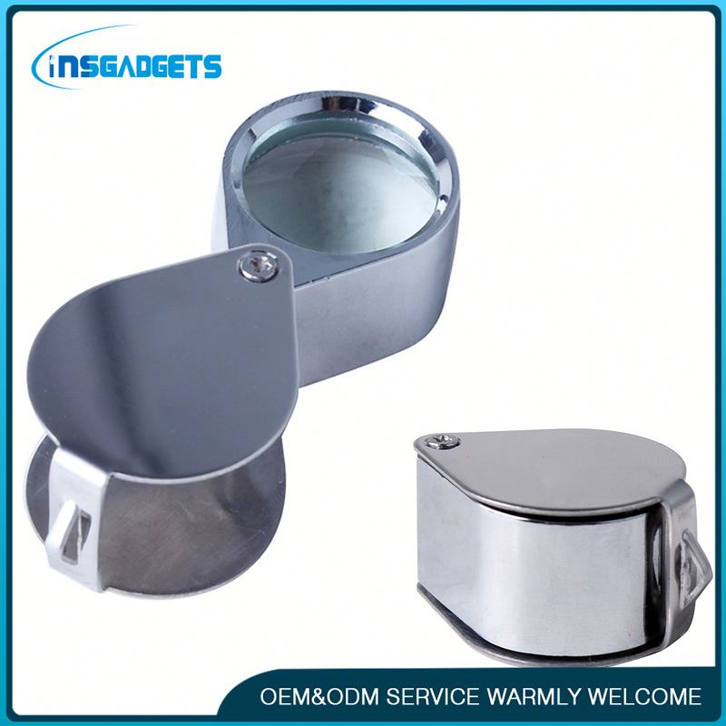 Jewelry eye loupe h0t4t custom card magnifier for sale