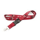 Promotional high quality custom nfl team lanyard