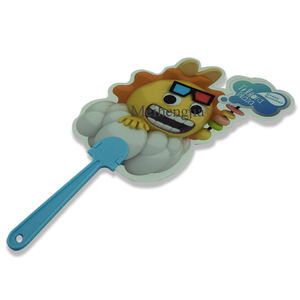 Shenzhen manufacture Best Selling plastic Comic strip hand fans bulk