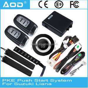 For Suzuki Liana Keyless entry push button start Passive keyless entry with sensing function