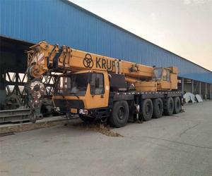 All terrain crane type Krupp 100T 120T used condition Krupp 100T 120T 200t 300t 500t crane