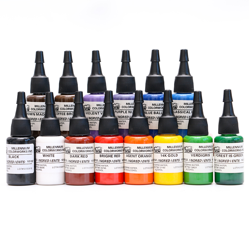 Professional Tattoo Pigment 15ml 14 Colors Of MOM Tattoo Inks