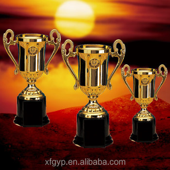 sports plastic trophies and cups award
