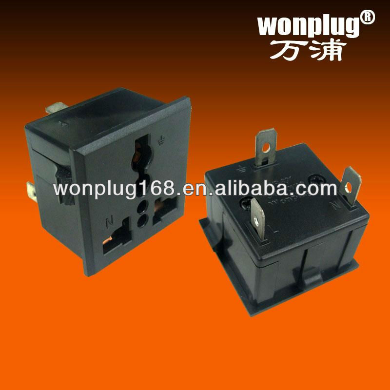 universal travel receptacle WP-801