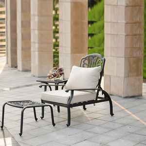 Fantastic Outdoor Cast Aluminum Patio Garden Furniture Nairobi Home Interior And Landscaping Ologienasavecom