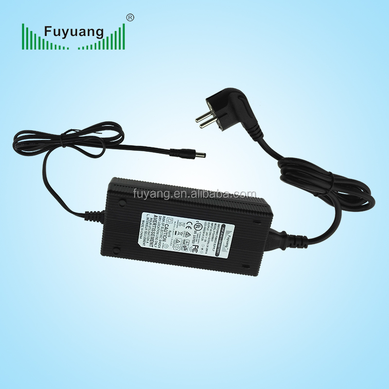 Fuyuang 36v 4a electric scooter e- bike li-ion battery charger with VI level