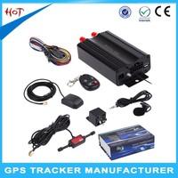 Professional vehicle gps tracker manufacturer provide free software/APP TK103B gps tracker vehicle