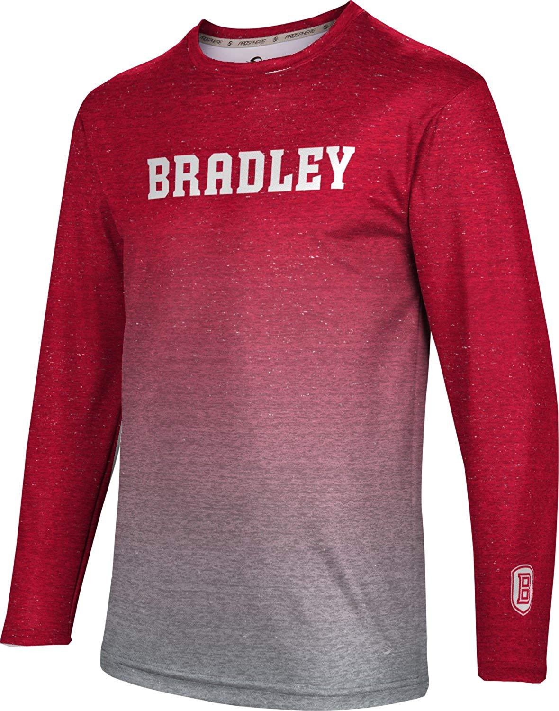 ac5315e96 Get Quotations · ProSphere Bradley University Men's Long Sleeve Tee -  Gradient