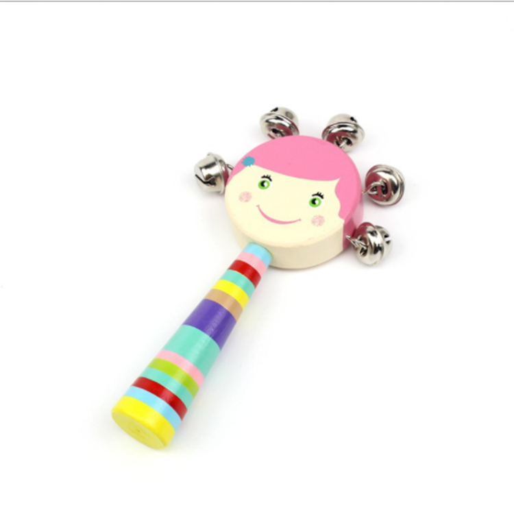 Delicious Kids Pellet Drum Rattle Hammer Rattle Educational Learning Musical Instrument Percussion Baby Cartoon Musical Instrument Toy Toys & Hobbies