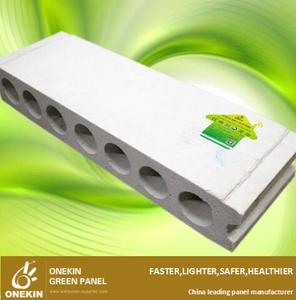 Precast concrete fireproof save total cost wall panel hollow core panel manufacture