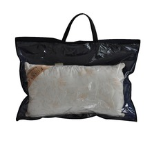Custom PVC+Non woven Bedding Pillow Handle Packaging Bag