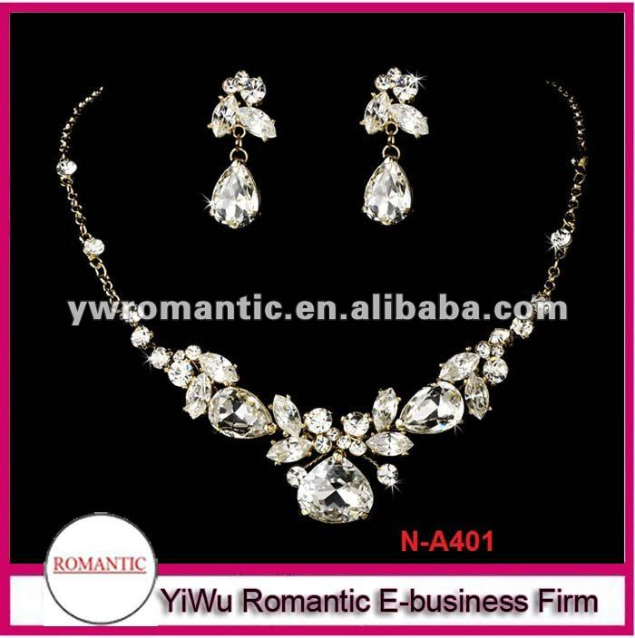 China Beautiful Diamond Jewelry Set, China Beautiful Diamond ...