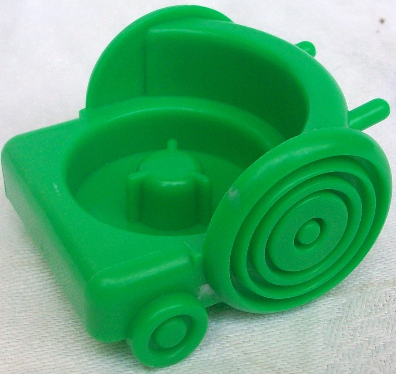 Fisher Price Little People Green Vehicle Trolley Cart Car Replacement Toy