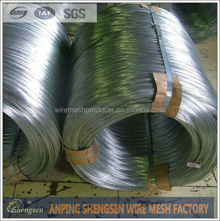 Anping Shengsen Electric and Hot dipped galvanized iron wire