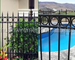 powder coated metal and security wrought iron gates garden gate