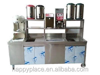 Stainless Steel Bar Counter For Milk Tea