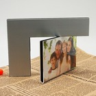 Hot Sale Creative Aluminum Rotate 360 Degrees Double face love Photo Frame