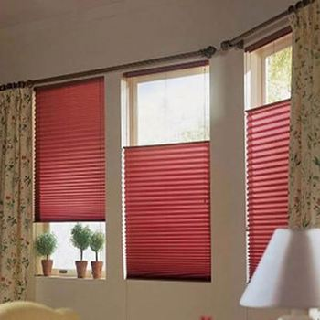 Honeycomb Blinds Fabric Lace Pleated Window Blinds Buy