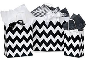 CHEVRON STRIPE BLACK ASSORTMENT50 Rose, 50 Cub, 25 Vogue 1 unit, 125 pack per unit.